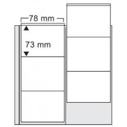 Compact myntblad 6 fickor, 2-pack